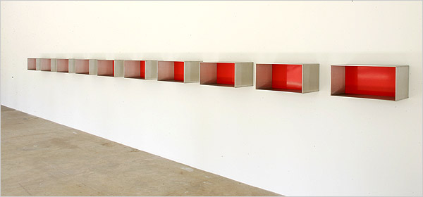 Donald judd the republic of less for Minimal art opere