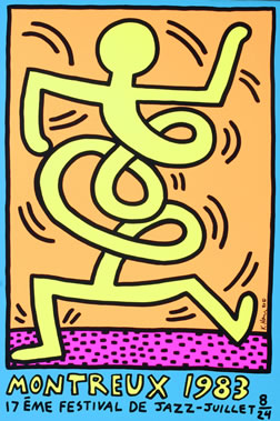 Keith Haring Dancing Figures 77485 | PCMODE