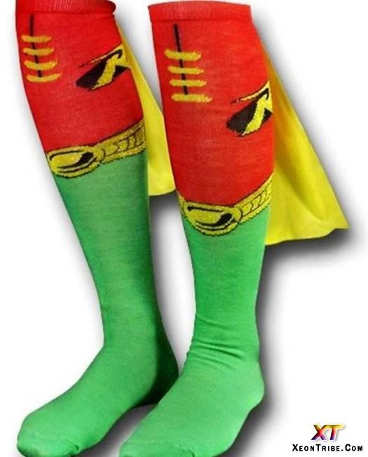 Crazy socks day 15superhero