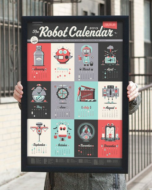 what's new Calendars30-3Robot