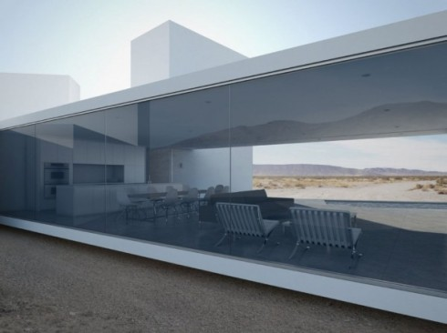 Desert vacation home architizer
