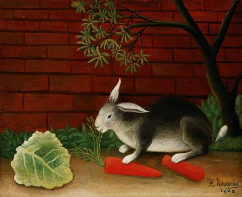 rousseau rabbit-1908