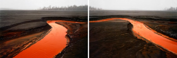 Edward Burtynsky Nickel Tailings Sudbury 1996