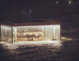 ocean hurrican sandy carousel brooklyn