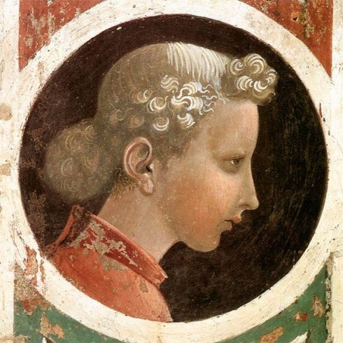 Portrait Paolo Uccello (1397 - 1475)  Roundel with Head, ca. 1435