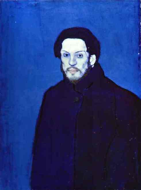 blu picasso self-portrait