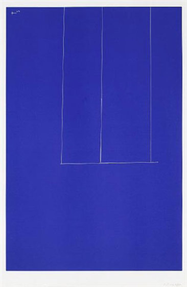 blu Robert_Motherwell_London_Series_1_Untitled_Blue_AP_1971