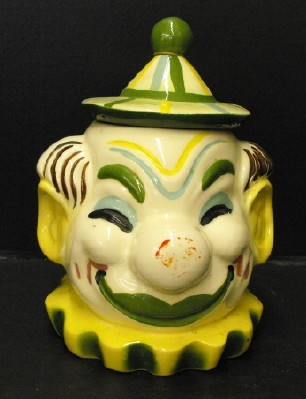 clown cookie jar