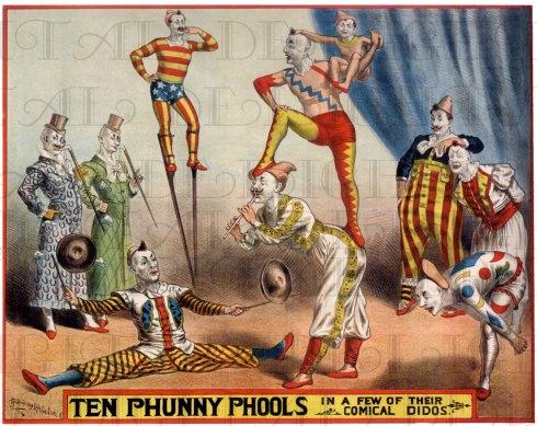 clowns phunny