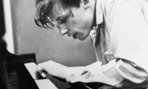 Glenn Gould recording the Goldberg Variations in 1955