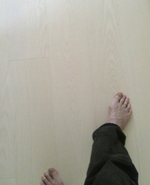 Floor my foot new floor