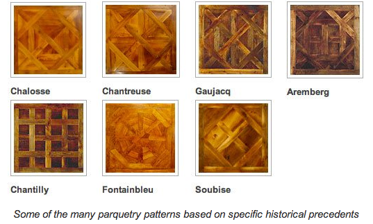 Floors Parquet types