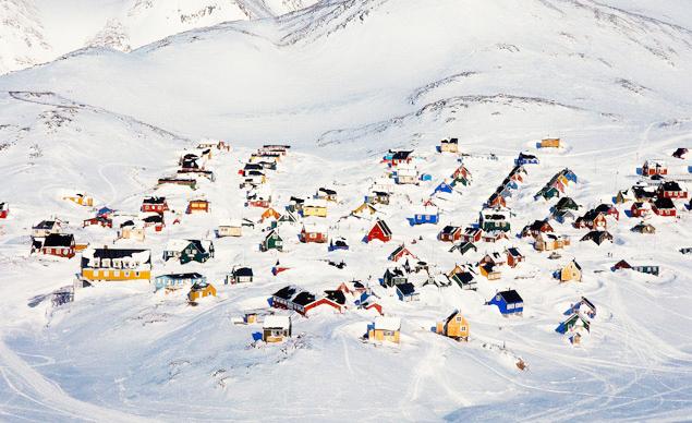 Frozen-Ittoqqortoormiit-Greenland