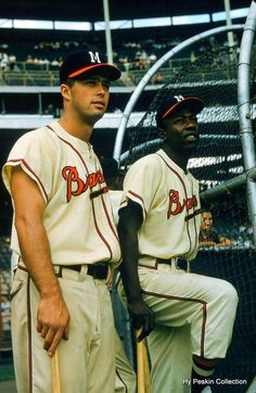 eddie matthews and hank aaron