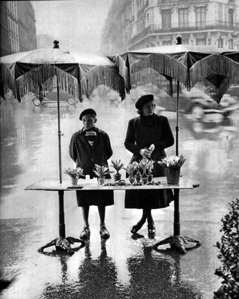 Caught in the Rain flower stand