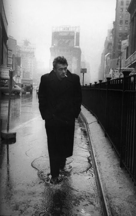caught in the rain james dean bowery