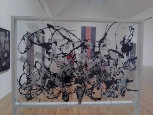 J Pollock No. 29 reverse