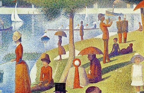 Seurat 1280px-DETAIL_1_Sunday_Afternoon