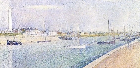 Spots G Seurat The-Channel-At-Gravelines-Petit-Fort-Philippe